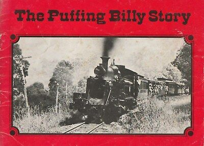 The Puffing Billy Story AUSSIE STEAM TRAIN COLLECTABLE A Victorian relic