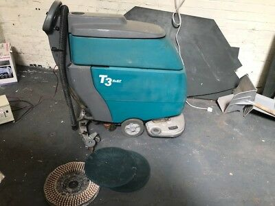 USED  T3 Walk Behind Scrubber - Floor Cleaning Scrubber Dryer