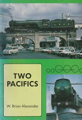 Two Pacifics 3801 and Flying Scotsman Australia STEAM TRAINS Well illustrated