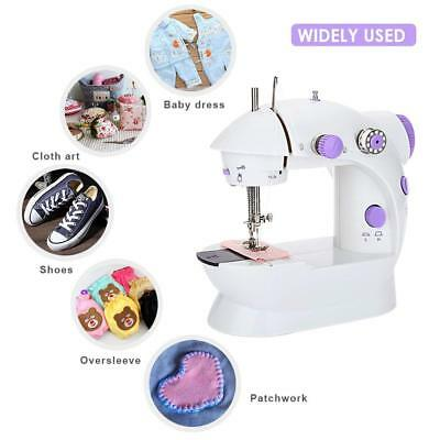 Electric Mini DIY Sewing Machine,Portable Sewing Machine Double Speed by LightMe