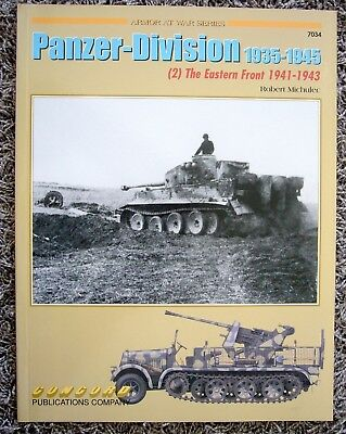 Concord Publications Panzer-Division 1935 - 1945 Eastern Front (2)  Nr 7034