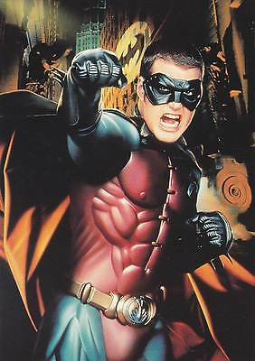 Postcard - Batman Forever - Card No. 11 of a series of 16
