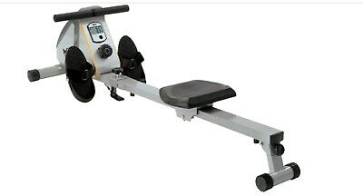 Rowing Machine Indoor Fitness We R Sports Rowx2 Magnetic White/silver