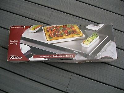Hot Plate / Warming Tray Cordless - Hostess HT6020 - Very Good Condition