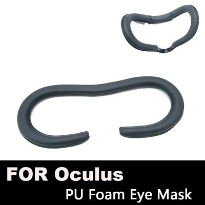 Face Foam Replacement Eye pad For Oculus Rift Headset VR PU Leather mask Cover