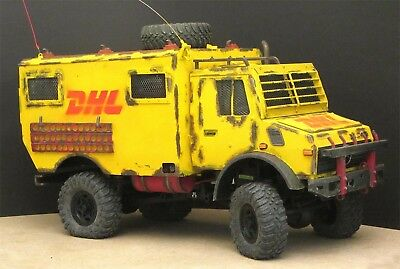 RC Truck Unimog U 1300 auf Axial Chassis - Einmaliges Unikat - Scale 1:10