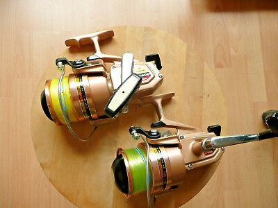 "2 Vintage ""daiwa B-400 High Speed""-Klasse Teile !!!"
