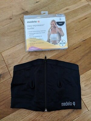 Medela easy expression bustier (small) with breast pads included