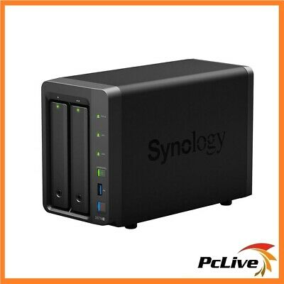 Synology DiskStation DS718+ 2 Bay NAS Server Cloud Network Storage File Backup
