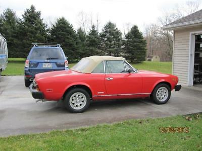 1983 Fiat Other  1983 Fiat Convertible