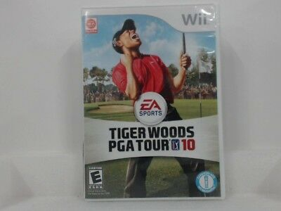 Tiger Woods Pga Tour 10 Wii Complete In Box W/ Manual Cib Very Good