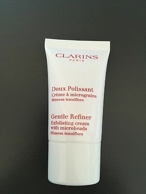 Clarins Gentle Refiner Exfoliating cream with microbeads Sealed 15ml
