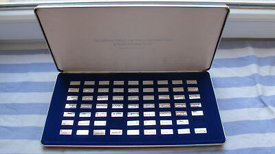 "1980 Franklin Mint ""Official Classic Car Miniature Collection"" in 925er Silber"