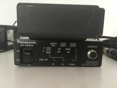 Panasonic Camera Contro Unit GP-KS162CUDE mit Akku Und Finger Kamera