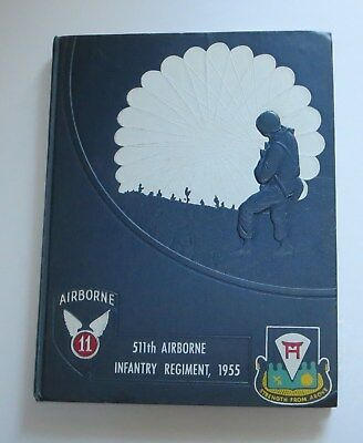 1955 11th Airborne Infantry 511th Airborne Infantry Regiment Fort Campbell