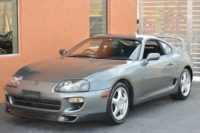 2000 Toyota Supra Hardtop TT RZ - Bone Stock - 6 Speed - Turbo - Slicktop - Recaro SR-3 - Moonstone