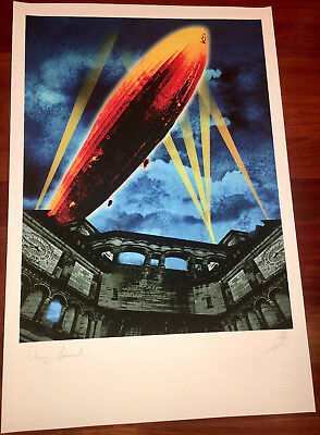 Led Zeppelin lithograph - Denny Somach Get The Led Out - Ioannis art poster