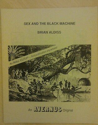 Sex and the Black Machine by Brian Aldiss. Very rare. In excellent condition.