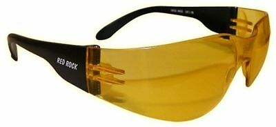 Red Rock 5510-00 Readrock Sunglasses Motorcycle Glasses Yellow Tinted Big
