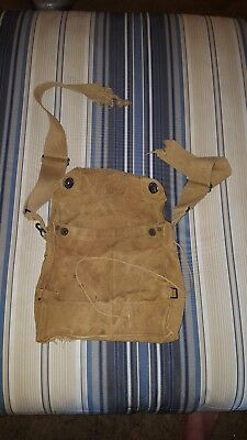 Original WW1 US Army Gas Mask Bag Pouch