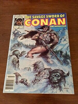The Savage Sword of Conan the Barbarian #110 - Marvel - March 1985