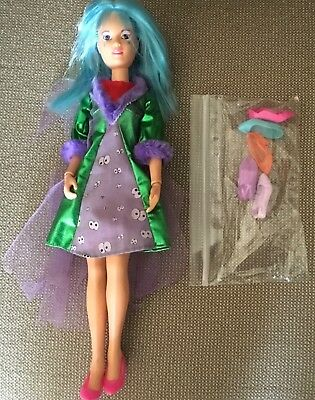 Vintage Jem and the Holograms Aja Doll Hasbro 1985 W/ Outfit