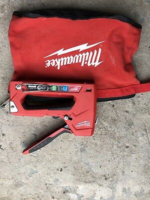 Milwaukee Hand Stapler In Bag