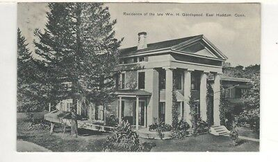1911 Postcard: Residence of the Late William H. Goodspeed – East Haddam, CT