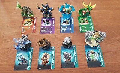 Skylanders Swap Force Figuren Wii - Set - 8 Teile