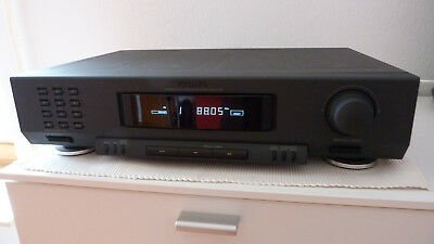 Philips FT 920 Stereo FM / AM Tuner schwarz Granit Look mit RDS 70FT920/00S