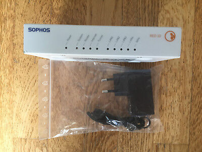 Sophos RED 10 rev.3 Appliance Remote Ethernet Device incl. Unlock Code