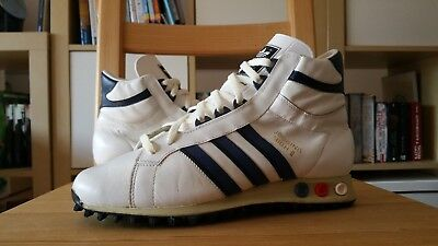Adidas Jogging High II 2 Vintage 80s UK 5,5 Schuhe 100% wearable rare trainers