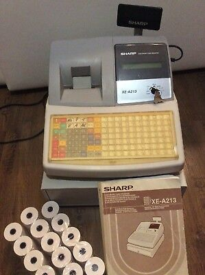 Sharp Registrierkasse XE - A 213