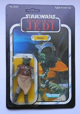 Star Wars ROTJ Kenner Klaatu MOC, vintage, 79back, UP