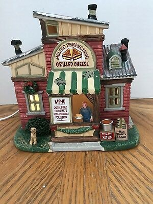 Lemax Melted Perfection Grilled Cheese Christmas Village - Free Shipping