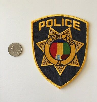 Cleveland Alabama Police Department Patch AL