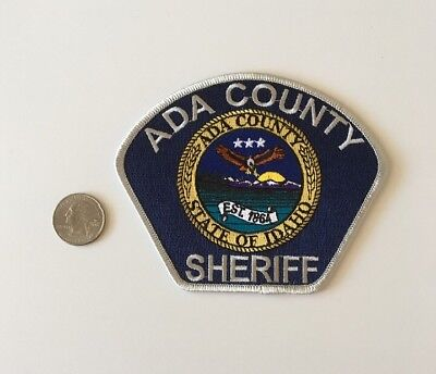 Ada County Idaho Sheriff Department Police Patch ID