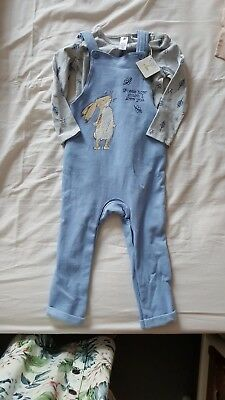 Guess How Much I Love You Dungarees 18-24m