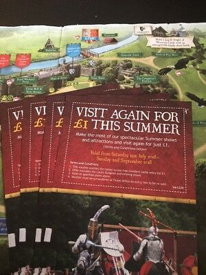 Warwick Castle £1 Entry Voucher