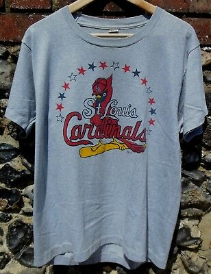 """Vintage 1980s St Louis Cardinals Unisex T-Shirt Baseball MLB Made in USA 42"""""""
