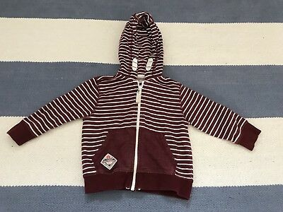 Baby Boys NEXT Hoodie 12-18 Months Excellent Condition