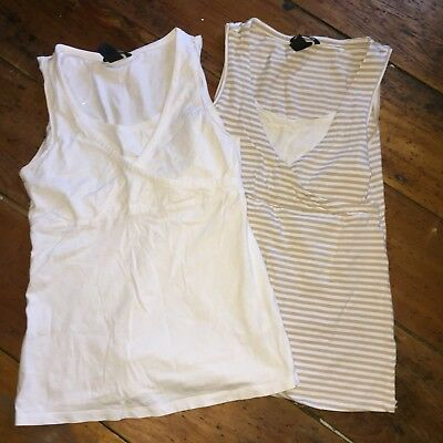 Breastfeeding Nursing H And M Vests 8-10