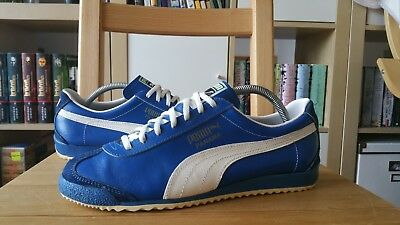 Puma Panama Vintage Schuhe 70s West Germany UK 7 42 shoes trainers stenzel bern