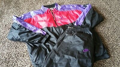 Nike Vintage 80s Tracksuit Trainingsanzug XXL Bad Taste 90s Oldschool Retro Mens