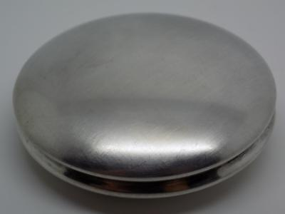 37g/1.2oz, Vintage Solid Silver Italian Made Large Box, Pill / Snuff, Stamped