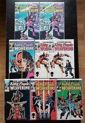 Kitty Pryde and Wolverine Complete Set 1-6 Eight Books (1984, Marvel)