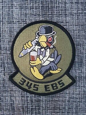USAF RAF Fairford 345th EBS Expeditionary Bomb Squadron Dyess B-1B Patch
