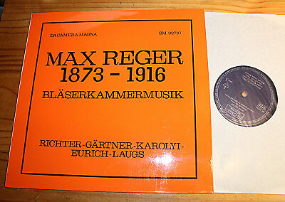 REGER Serenade, Clarinet Sonata KOROLYI LAUGS RICHTER ..  LP DA CAMERA MAGNA