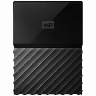 WD My Passport 4TB External USB 3.0 Portable Hard Drive Black | Factory Sealed |