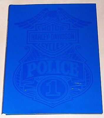2018 Harley Davidson Motorcycles Police & Fleet Sales Brochure Catalog Very Rare